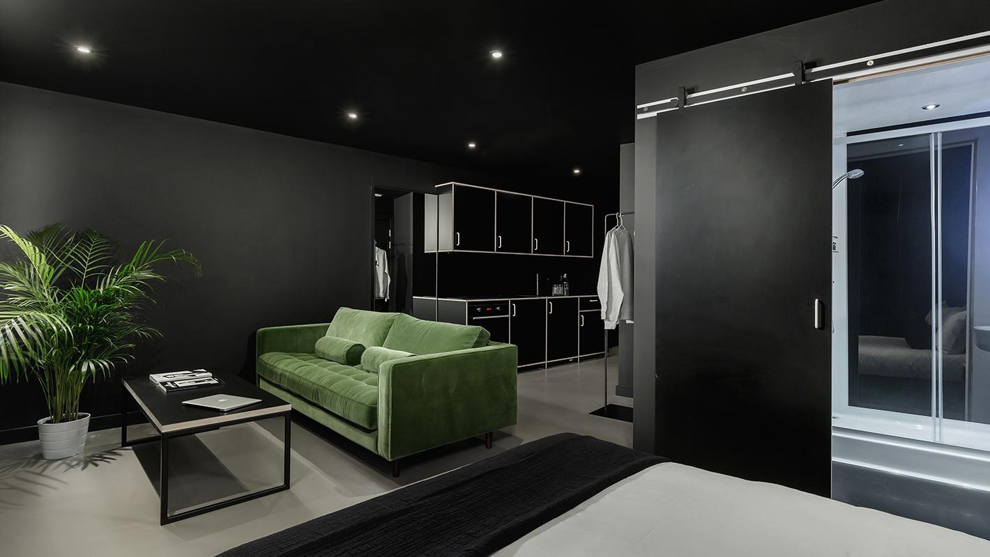 minimalist hotel design